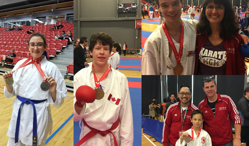 ICKF Karate School Brings Home 7 Medals From the Ontario Karate Federation Tournament