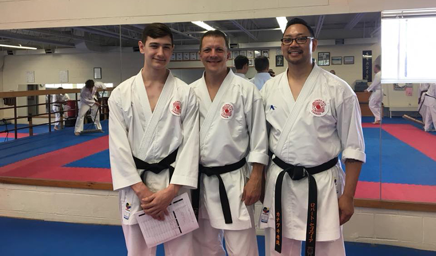 ICKF New Black Belts 2018